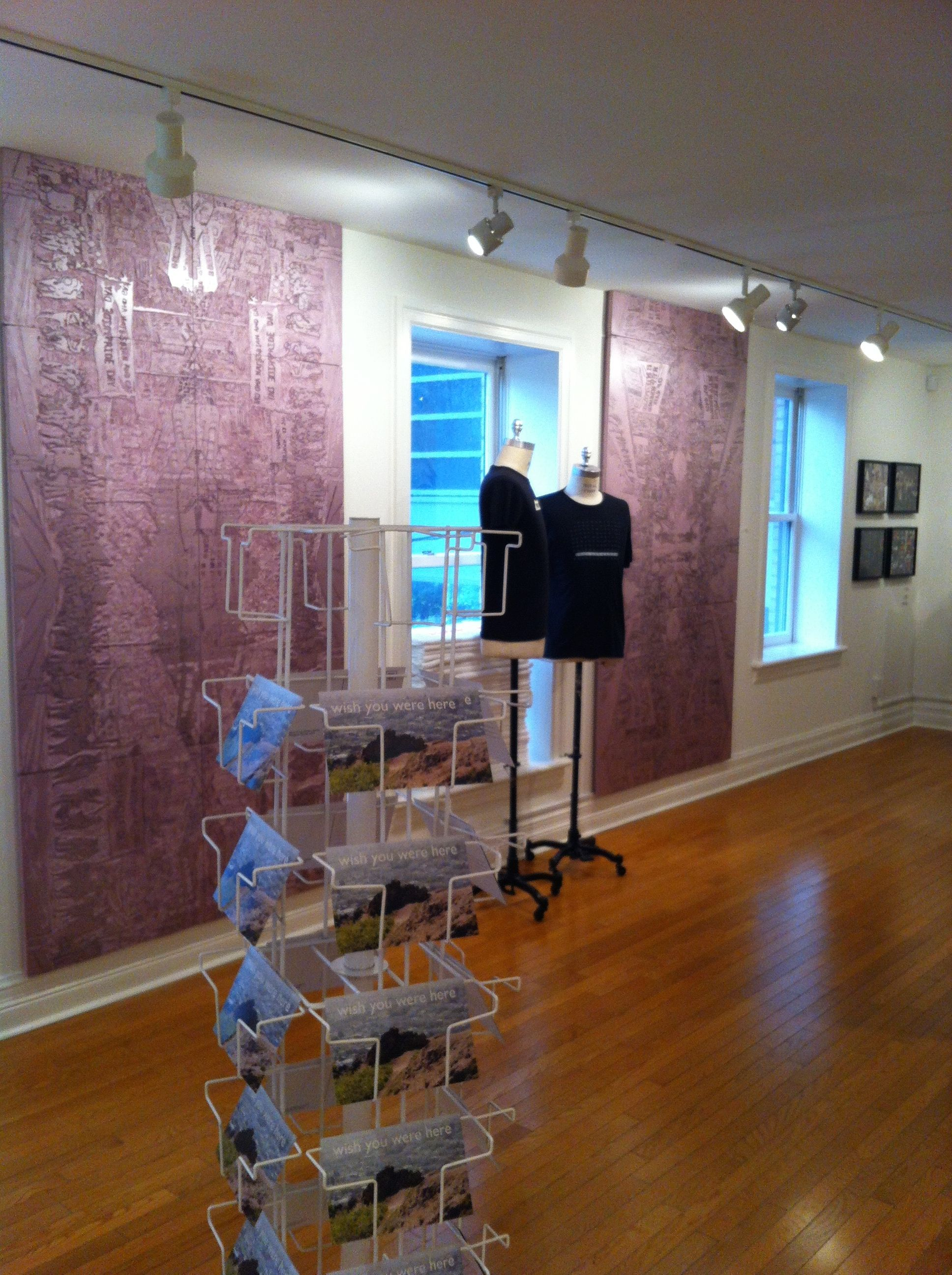 Queering Space Installation View